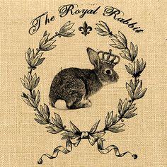 Image transfer Easter pillow