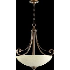Quorum Lariat 4 Light Foyer Pendant
