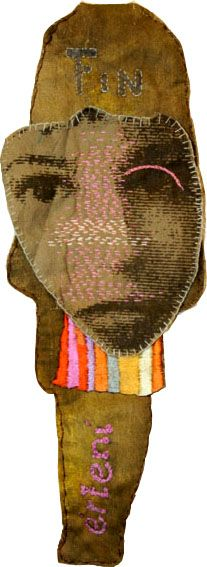 Pia-Lotta Rock: Souvenir Doll (one of a series) 2008