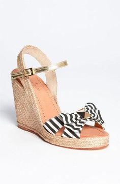 Kate Spade #wedge #shoes #sandals