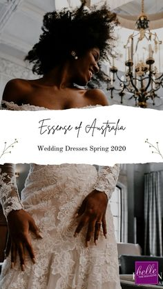 Essense of Australia Wedding Dresses Spring 2020 | World Exclusive Preview: Bridal Gowns for The New Romantic - Belle The Magazine | wedding dresses | bridal dresses | wedding gowns | bridal gowns | wedding dresses with sleeves | lace wedding dresses | plus size wedding dresses