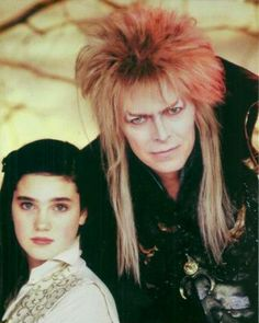 Jareth and Sarah. David Bowie Labyrinth, Labyrinth 1986, Labyrinth Movie, Labyrinth Goblins, Jim Henson Labyrinth, David Bowie Born, Christina Rossetti, Labrynth, Tv Show Music