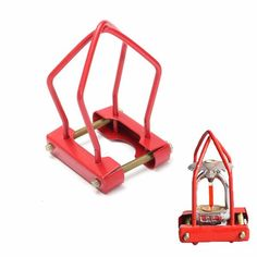 48x28x75mm Fire Sprinkler Headguard Red Cage Protection Frame for DN15 DN20