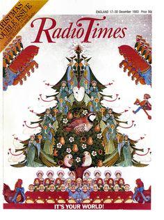 Radio Times Cover 1983-12-27 Christmas