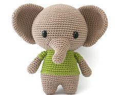Joe de olifant haak patroon
