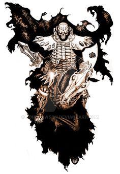 The Skull Knight by Johndowson on DeviantArt