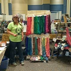 Suzoo's Wool Works at Houston Fiber Fest