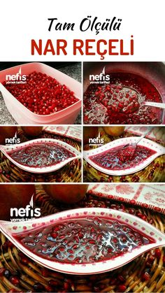 How to make a magnificent Pomegranate Jam (Full Measured) Recipe? Here is the pictorial description of this recipe in the book of people and the photos of the experimenters. Healthy Eating Tips, Healthy Nutrition, Pomegranate Jam, Fruits And Vegetables, Veggies, Vegetable Drinks, Turkish Recipes, Tasty, Desserts