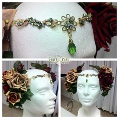 How to make an Art Nouveau Headdress » Firefly Path