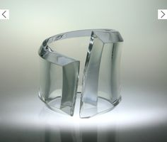 "Alexandra BLAK lucite bangle    (Hmm - pin to ""Cuffs"" or ""Lovely Lucite""?? The decisions required of a pinner...)"