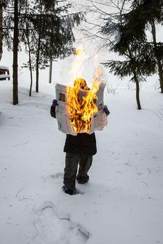 Tim Parchikov, 'Burning News,' 2012, Glaz Gallery
