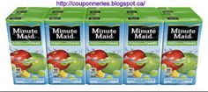 Coupons et Circulaires: .97¢ MINUTE MAID  (12 x 341ml)