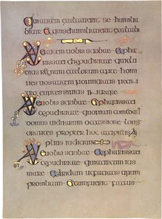 Book of Kells - illuminated manuscript, visited Nov 97