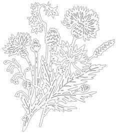Craft Stick Crafts, More Photos, Dandelion, Spring, Flowers, Papercutting, Dandelions, Taraxacum Officinale, Royal Icing Flowers