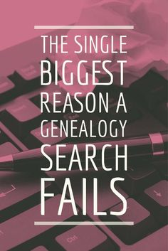A genealogy search often fails because of lack of knowledge. Here are five great resources for shoring up your genealogy knowledge.