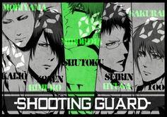 黑子的篮球 Shooting Guard