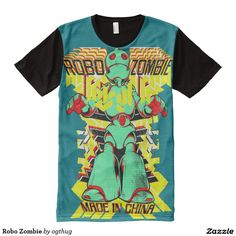 Robo Zombie All-Over Print T-shirt
