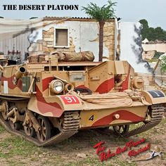 The Desert Platoon are a vehicle living history group that portrays the life of a desert solider from 1939- 1943. Their displays involve WW2 desert vehicles with their crews coming from all over the UK to a variety of events. See The Desert Platoon at The War and Peace Revival 2016. Tickets are available online. Don't delay book your tickets today! Warandpeacerevival.com #desert #platoon #ww2 #solider #UK #RAF #displays #troops #vintage #history #warandpeacerevival #family #event #kidsgofree…