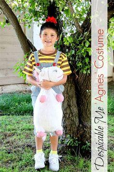 Semi-Homemade Despicable Me 'Agnes' Costume
