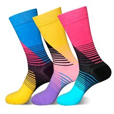 Males Socks Informal Excessive High quality Latest Lengthy Coloration Cotton Socks Males Pleased Socks Stripe New Fashion Colourful Combed Cotton Pattern Socks Silly Socks, Happy Socks, Socks World, Sock Store, Calf Compression, Strip, Patterned Socks, Colorful Socks, Designer Socks