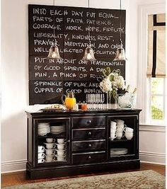 Tucker Buffet, Black - traditional - buffets and sideboards - by Pottery Barn
