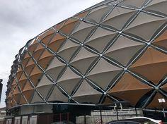 Vakıfbank Sports Palace Facade | TENSAFORM - Asma Germe Membran Yapılar
