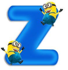 Minion Birthday, Minion Party, Alphabet Art, Monogram Alphabet, Minion Invitation, Easter Garden, Minnie Png, Teaching The Alphabet, Birthday Frames