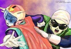 Gohan Videl - Saiya heroes DBZ by vegetto-vegito.deviantart.com on @deviantART