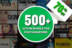 [70% OFF] 500+ Action Bundle by SparkleStock on Creative Market