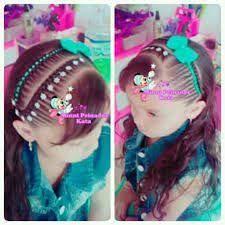 Resultado de imagen para peinados infantiles Little Girl Hairstyles, Hair Art, Diana, Little Girls, Hair Styles, Hair Ideas, Beauty, Kids, Braided Updo