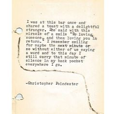 christopherpoindexter:  The Universe and Her, and I poem #173 written by Christopher Poindexter