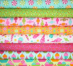 Dessert Party fabric by Ann Kelle for Robert by fabricshoppe, $10.00
