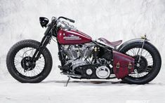 1953 Harley Davidson Fl Left Side Full