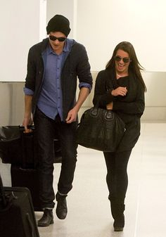 Lea Michele and Cory Monteith! Love you both!