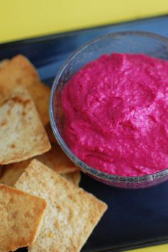 Roasted Beet Hummus | Beantown Baker
