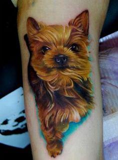 Realism Tattoo Designs   realistic dog tattoo realistic dog tattoo dog tattoos tattoo designs ...