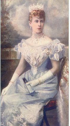 Princess May of Teck (1867-1953) later Queen Mary, consort of George V