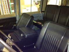 1964 Land Rover 109 SE2a Safari wagon Expedition Restoration interior