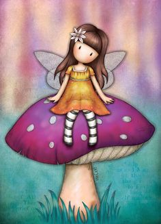 Cute Images, Cute Pictures, Bow Wallpaper, Illustration, Shell Crafts, Fairy Art, Cute Characters, Cute Dolls, Cute Drawings