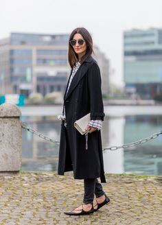 Outfits to Wear With Flats | POPSUGAR Fashion