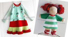 holidaze #courtneycourtney #eco #upcycled #recycled #repurposed #tshirt #vintage #dress #girls #unique #clothing #ooak #designer #upscale #snowmen #ruffle #holiday #green