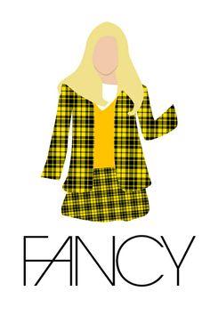 Fancy // Iggy Azalea / Clueless Art Print