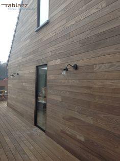 Patio Design, Garden Design, Outdoor Fun, Cladding, Facade, Door Handles, Woodworking, Exterior, Building