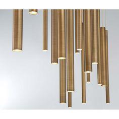 Cool Lighting, Modern Lighting, Lighting Design, Linear Lighting, Studio Lighting, Lighting Ideas, Round Chandelier, Linear Chandelier, Entry Chandelier