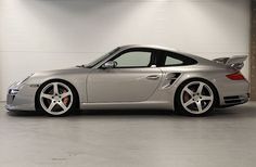 The Porsche 911 is a truly a race car you can drive on the street. It's distinctive Porsche styling is backed up by incredible race car performance. Porsche 997 Turbo, 2008 Porsche 911, Porsche Carrera, Porsche Sports Car, Porsche Cars, Ruf Automobile, Turbo S, Sport Cars, Luxury Cars