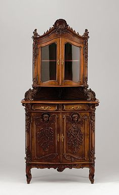 Showcase in the Rococo style. Northern Italy, 1860. | AUKTIONSHAUS MICHAEL ZELLER