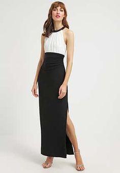 Lauren Ralph Lauren - AZUSIANA - Vestito di maglina - black/white