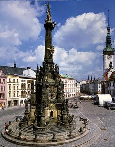 Olomouc is a city in Moravia, in the east of the Czech Republic. Located on the Morava River, the city is the ecclesiastical metropolis and historical capital city of Moravia.