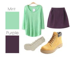Mint & Purple | 26 Essential Fall Color Palettes You Need To Try