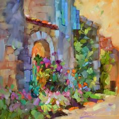 dreama tolle perry paintings | Dreama Tolle Perry » Artist and Writer » daily paintings of France ...